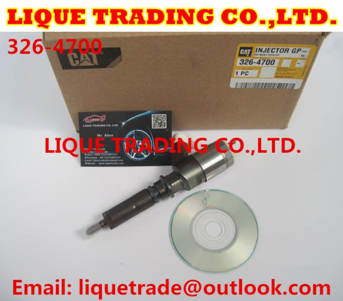 Original and New CAT CR Injector 326-4700 / 3264700 / 32F61-00062 for CAT 320D Excavator D18M01Y13P4752