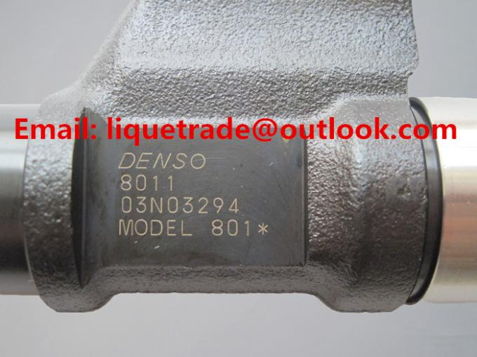 DENSO common rail injector 095000-8010, 095000-8011, 9709500-801 for HOWO A7 VG1246080051
