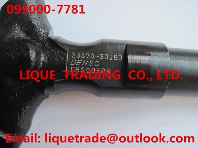 DENSO Common Rail Injector 095000-7780 / 095000-7781 / 9709500-778 for TOYOTA 23670-30280 , 2367030280