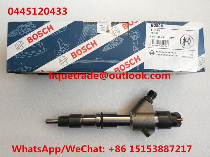 BOSCH Common Rail Injector 0445120433 , 0 445 120 433 , 0445 120 433 Genuine And New