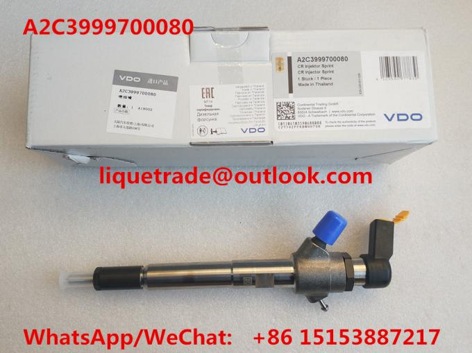 VDO Common rail injector 92333 , A2C3999700080 for 3.2L 7001105C1
