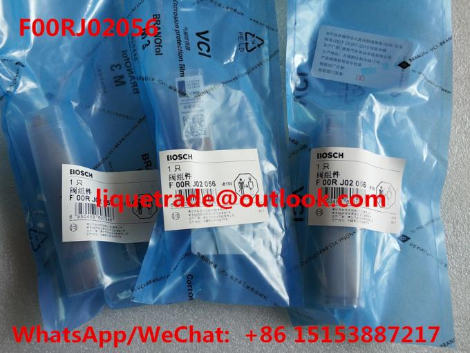 BOSCH F00RJ02056 Genuine and New Common rail injector valve F00RJ02056 , F 00R J02 056 , F00R J02 056