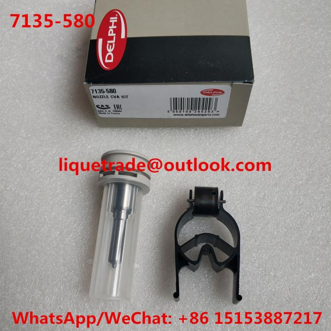 DELPHI repair kits 7135-580 , 7135 580 , 7135580 , include (nozzle 347+ valve 28392662 )