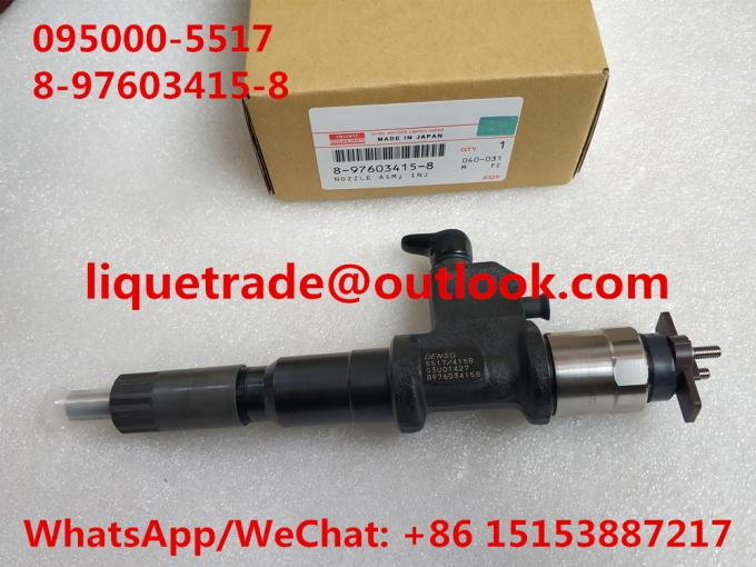 DENSO injector 095000-5510 ,095000-5516 ,095000-5515 , 8-97603415-8 , 8976034158 , 8-97603415-7 , 8976034157