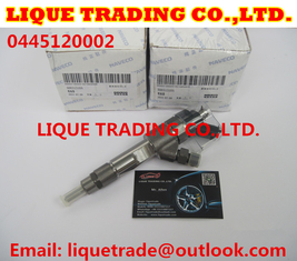 China BOSH Common rail injector 0445120002 for IVECO 500313105 500384284 supplier