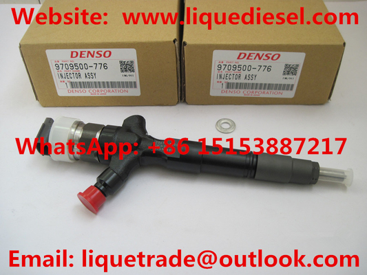 China DENSO Genuine & New common rail injector 095000-7760, 095000-7761, 9709500-776  for TOYOTA 23670-30300,23670-39275 supplier