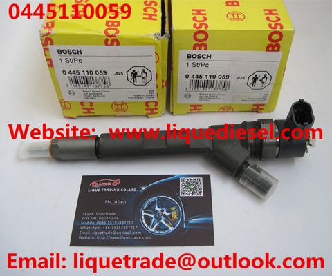China BOSCH Common Rail injector 0445110059 / 0 445 110 059 Chrysler 05066 820AA / VMI 15062036F supplier