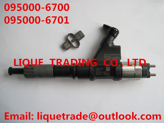 China DENSO common rail injector 095000-6700,095000-6701 for SINOTRUK HOWO R61540080017A / 150100106800 supplier