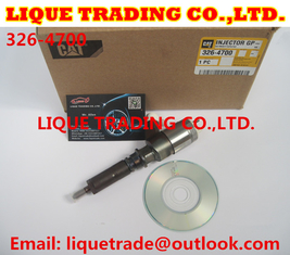 China Original and New CAT CR Injector 326-4700 / 3264700 / 32F61-00062 for CAT 320D Excavator D18M01Y13P4752 supplier