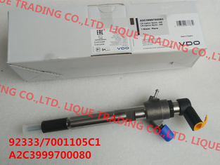 China GENUINE Common rail injector 92333 , A2C3999700080 for 3.2L 7001105C1 supplier