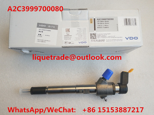 China VDO Common rail injector 92333 , A2C3999700080 for 3.2L 7001105C1 supplier