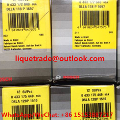 China BOSCH FUEL NOZZLE 0433172040 , 0 433 172 040 , DLLA118P1697 , DLLA 118 P 1697 supplier