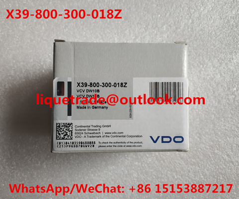China Original VDO Pressure Control Valve X39-800-300-018Z SIEMENS genuine X39800300018Z supplier