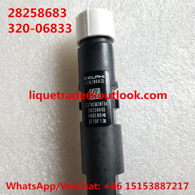 China DELPHI Original and New Common Rail Injector 28258683, 320/06833 for JCB Excavator 320-06833 , 32006833 supplier