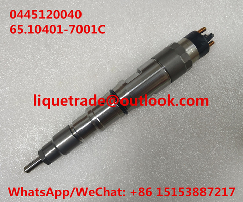 China Common rail injector 0445120040 , 0 445 120 040 , 65.10401-7001C , 65.10401-7001 supplier