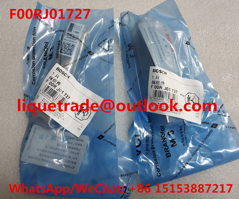 China BOSCH Common rail injector valve F00RJ01727 , F 00R J01 727 supplier