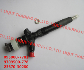 China DENSO Common Rail Injector 095000-7780 / 095000-7781 / 9709500-778 for TOYOTA 23670-30280 , 2367030280 supplier