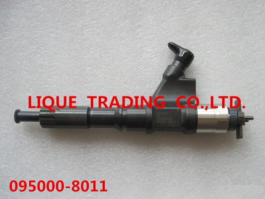 China DENSO common rail injector 095000-8010, 095000-8011, 9709500-801 for HOWO A7 VG1246080051 supplier