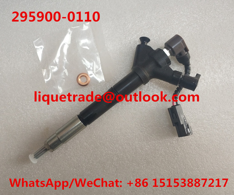 China DENSO injector 295900-0110 , 2959000110 for TOYOTA 23670-26020, 23670-26011, 23670-29105, 23670-0R040, 23670-0R041 supplier