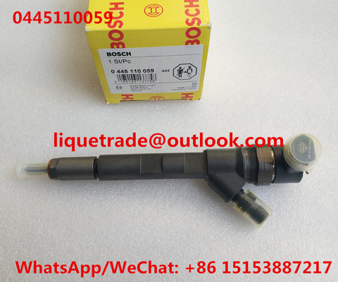China BOSCH INJECTOR 0445110059 , 0 445 110 059 Common Rail injector 0445110059 , 0445 110 059 supplier