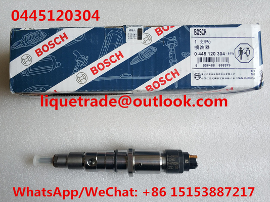 China BOSCH Common Rail Injector 0445120304 , 0 445 120 304 , 0445 120 304 for ISLE engine 5272937 supplier