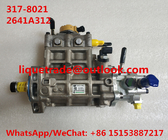 CAT Fuel Pump 317-8021 , 2641A312  For Caterpillar CAT pump 3178021 , 317 8021