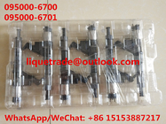 DENSO common rail injector 095000-6700 , 095000-6701 for SINOTRUK HOWO VG61540080017A / R61540080017A / 150100106800