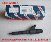 China BOSCH common rail injector 0445120067 , 0 445 120 067 , 0445 120 067 for DEUTZ 04290987 factory