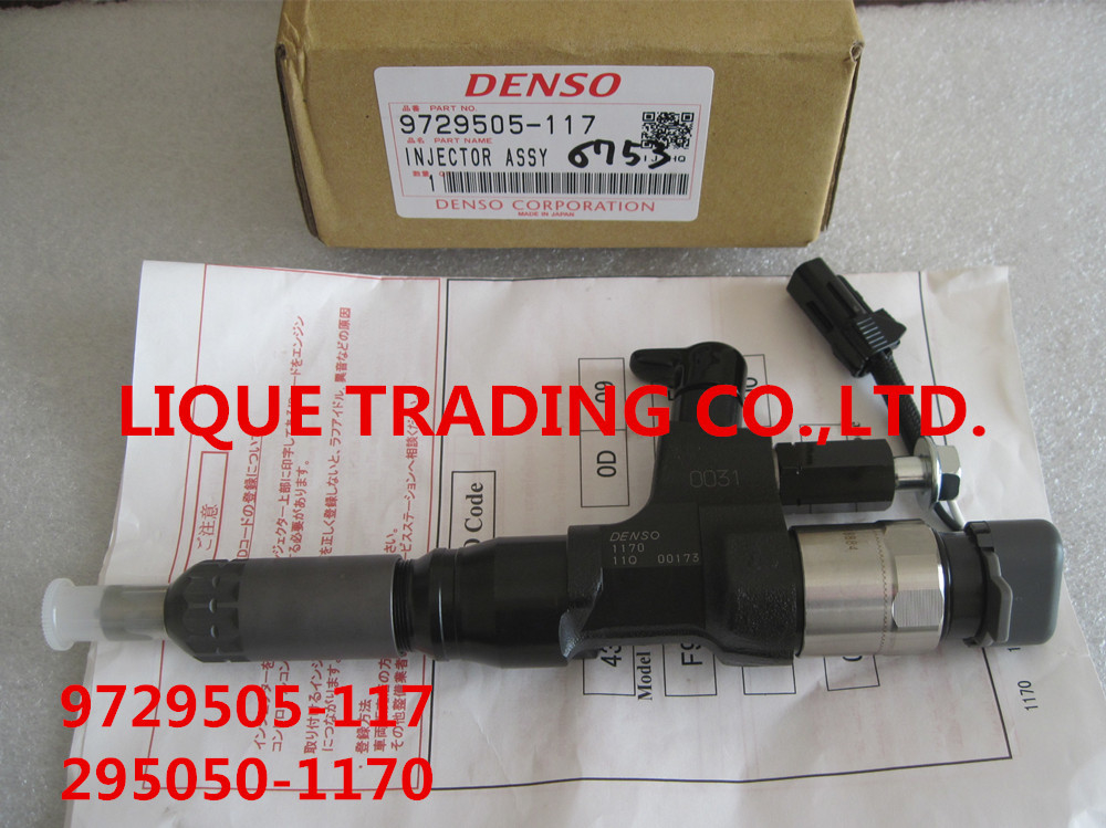 DENSO Common rail injector 295050-1170 , 2950501170