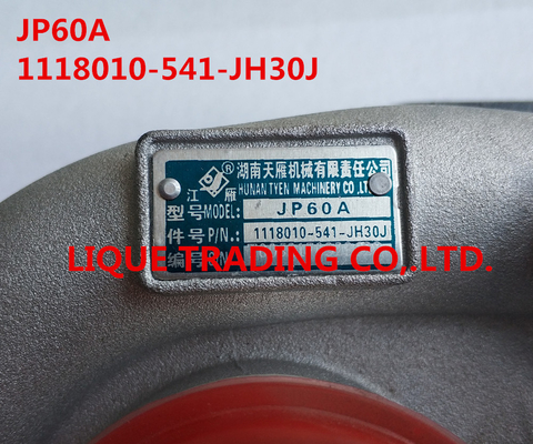 China Genuine and new turbocharger JP60A  , 1118010-541-JH30J distributor