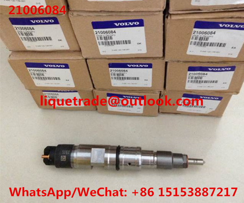China VOLVO injector 21006084 injector,original Bosch 0445120074 , 0445120139, 04902525, 7421006084,7485001662,7421006073 distributor