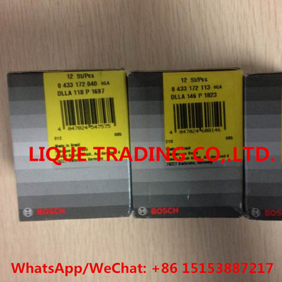 China BOSCH FUEL NOZZLE 0433172113 , 0 433 172 113 , DLLA146P1823 , DLLA 146 P 1823 distributor
