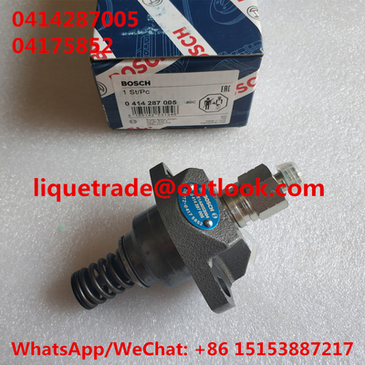 China BOSCH original unit pump 0414287005 / 0 414 287 005 DEUTZ unit pump 0414287005 , 04175852 distributor