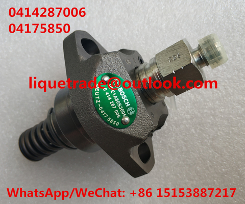 China BOSCH unit pump 0414287006 , 0 414 287 006 , 04175850 , 0417 5850 for Deutz distributor