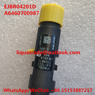 China DELPHI INJECTOR EJBR04201D , R04201D , A6460700987 for Mercedes Benz distributor