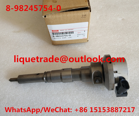 China ISUZU Common rail injector 8-98245754-0 , 8982457540 for ISUZU distributor