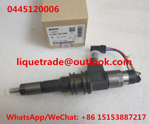 China BOSCH Genuine and New Fuel injector 0445120006 ,  0 445 120 006 , 0445 120 006  for MITSUBISHI ME355278 distributor