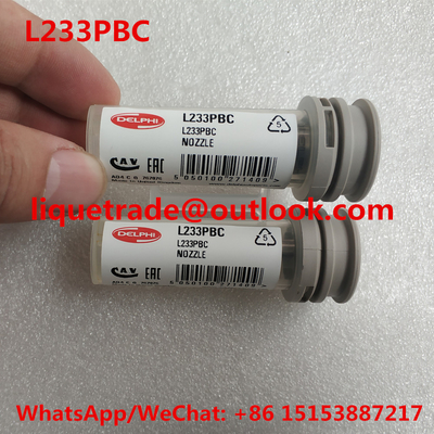 China DELPHI Genuine NOZZLE L233PBC Common Rail Injector Nozzle L233PBC , L233 , NOZZLE 233 distributor