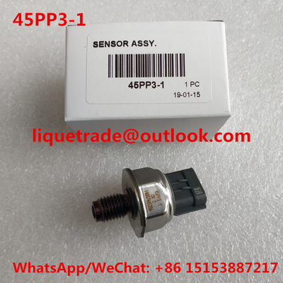 China Delphi original Common rail fuel pressure sensor 45PP3-1 , 45PP31 distributor