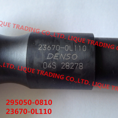 China DENSO Common rail injector 295050-0810, 2950500810 for TOYOTA 2KD-FTV 23670-0L110 distributor