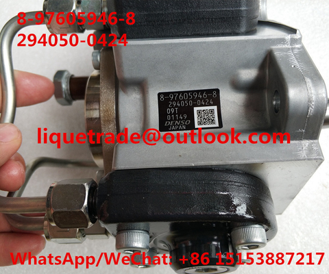China DENSO fuel pump 294050-0424, 294050-0420, 9729405-042 , ISUZU 8-97605946-8, 8976059468,97605946 ,8-97605946-0, 97605946 distributor