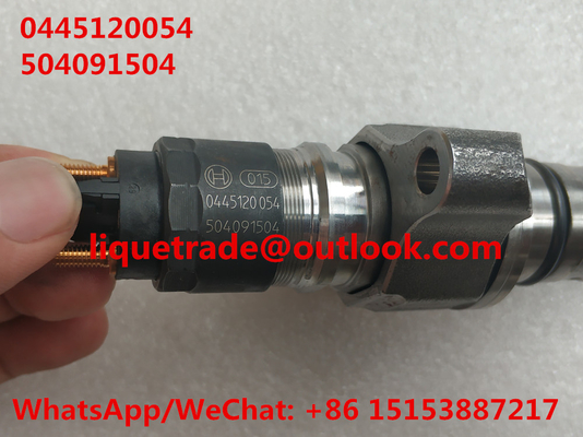 China BOSCH fuel injector 0445120054 , 0 445 120 054 , 0445 120 054 for IVECO 504091504, CASE NEW HOLLAND 2855491 distributor