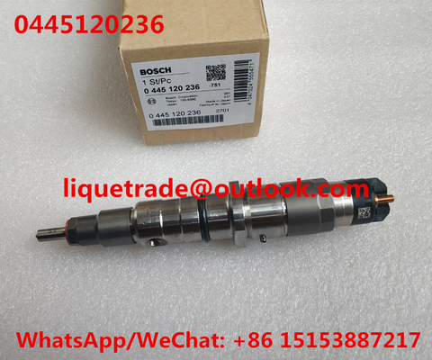 China BOSCH fuel injector 0445120236 , 0 445 120 236 , 0445 120 236 distributor