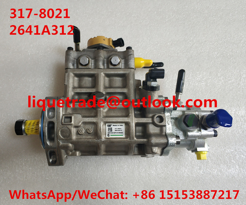China CAT Fuel Pump 317-8021 , 2641A312  For Caterpillar CAT pump 3178021 , 317 8021 distributor