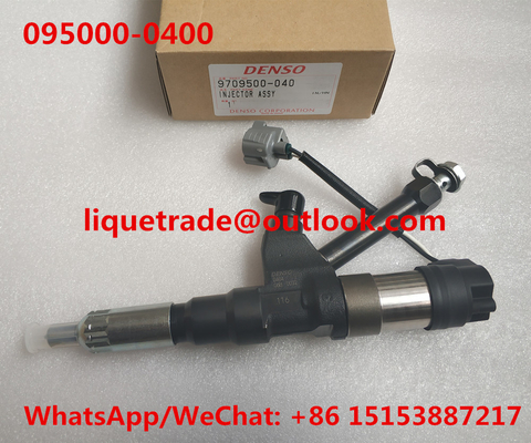 China Denso Fuel Injector 095000-0400 095000-0402 095000-0403 095000-0404 for HINO P11C 23910-1163 23910-1164 distributor