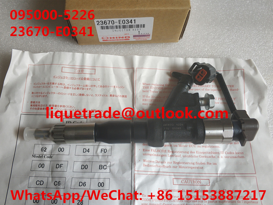 China DENSO INJECTOR 23670-E0341 , 095000-5221 , 095000-5222, 095000-5225, 095000-5226 , 0950005226 for HINO 700 Series E13C distributor