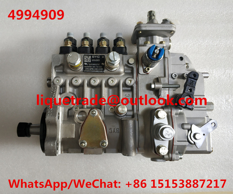 China CUMMINS fuel pump 4994909 , 10404716046 , 10 404 716 046 , CPES4PB110D120RS BYC 4994909 distributor