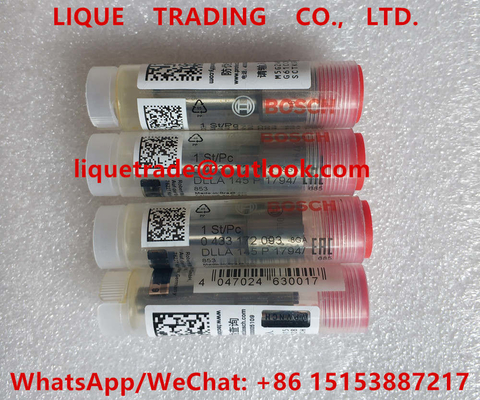 China BOSCH injector nozzle 0433172093, DLLA145P1794, 0 433 172 093, DLLA 145 P 1794 factory