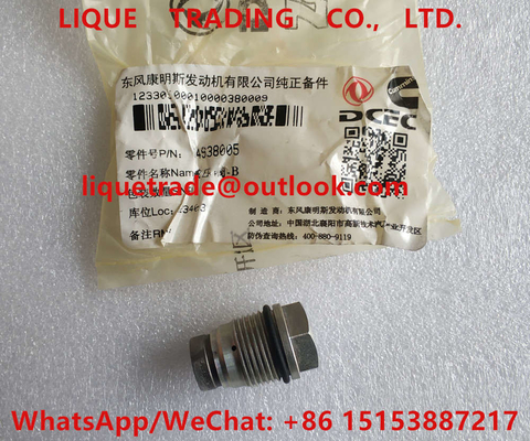 China BOSCH Pressure Relief Valve 4938005 , 1110010013 , 1 110 010 013 for Cummins factory