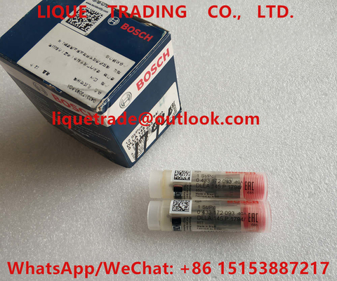 China BOSCH injector nozzle 0433172093, DLLA145P1794, 0 433 172 093, DLLA 145 P 1794 , 433172093 factory